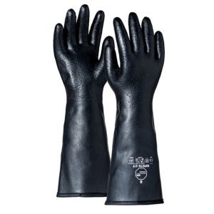 Dupont™ Tychem®  NP570 CT BK EY Neoprene Coated Gloves 68 Mil 72/Pairs