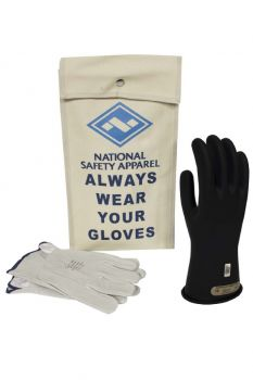 NSA KITGC00 Class 00 Black Rubber Voltage Glove Kit