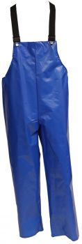 Tingley Iron Eagle Overall Blue Plain Front Snap-Lock Buckles