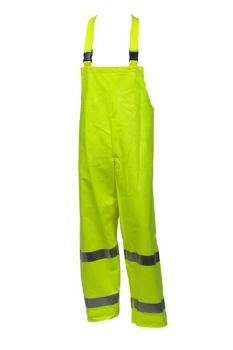 Tingley Eclipse Overall Fluorescent Yellow-Green  Snap Fly Front | O44122