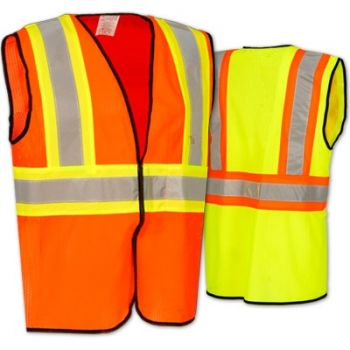 Occunomix High Visibility Value Mesh Two-Tone Safety Vest Class 2 | ECO-GC2T