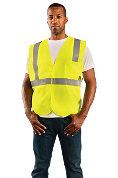 Occunomix Value Solid Standard Safety Vest ECO-IS