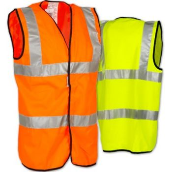 OccuLux Premium Solid Full Safety Vest