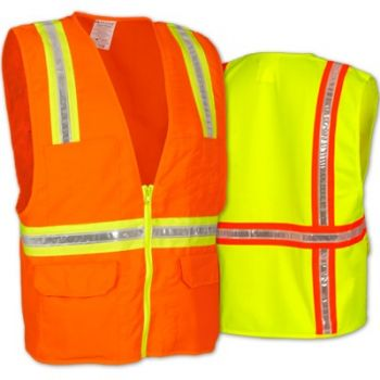 OccuLux NON-ANSI Surveyor's Solid Safety Vest