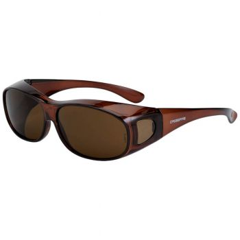 Radians Brown L/XL Brown Safety Glasses L/XL Brown 12 PR/Box