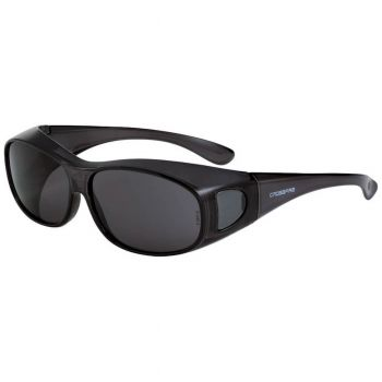Radians Smoke L/XL Black Safety Glasses L/XL Black 12 PR/Box