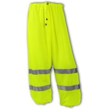 Tingley Class E Pants Fluorescent Orange-Red Polyester Mesh | P70029