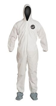 DuPont™ PB122SWH ProShield 10 Coverall. Standard Fit Hood  25/Case