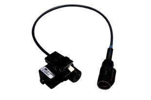 """Peltor Push-To-Talk Adapter with 6 Pin MIL-C-55116 Connector - 34"""" Cable"""
