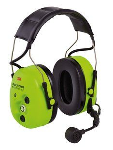 Peltor WS ProTac XP Ground Mechanic Headband with Environmental Mics - Hi-Viz (Case of 10)