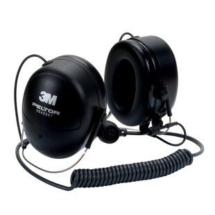 Peltor MT Series 2-Way Communications Headset, Neckband,  Direct Wired Headset - for Motorola HT750/HT1250