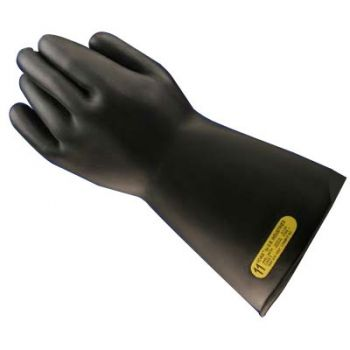 Rubber Insulated Electrical Gloves 7500 Volt