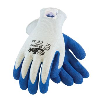 G-Tek CR Ultra Seamless Knit Spun Dyneema / Nylon Glove with Nitrile Coated Smooth Grip on Palm & Fingers 12 Pairs