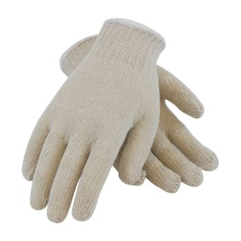 PIP Economy Weight Seamless Knit Glove 7 Gauge white color- 12 Pair