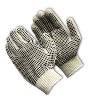 PIP Seamless Knit Double-Sided PVC Grip Glove - 10 Gauge