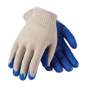 Seamless Knit Latex Coated Smooth Grip Glove - Economy Grade (LARGE) 12 PR