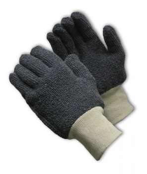 Terry Cloth Seamless Knit Glove-18 oz-S