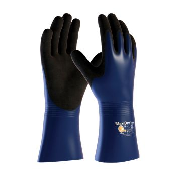 PIP 56-530/L ATG Nitrile Coated Glove with Nylon / Lycra Liner and Non Slip Grip on Palm & Fingers Large 6 DZ