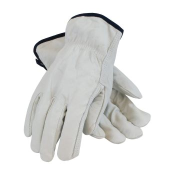 PIP 68-103 Regular Grade Top Grain Leather Driver's Glove - Straight Thumb 120/Pairs