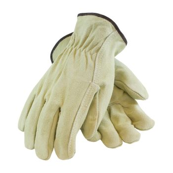 PIP®  69-134 Regular Grade Split Cowhide Leather Drivers Glove - Straight Thumb 10/DZ