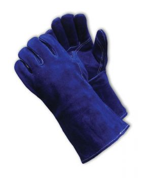 Side Split Leather with Cotton Foam Liner and Kevlar® Stitching Welder's Glove (LARGE)