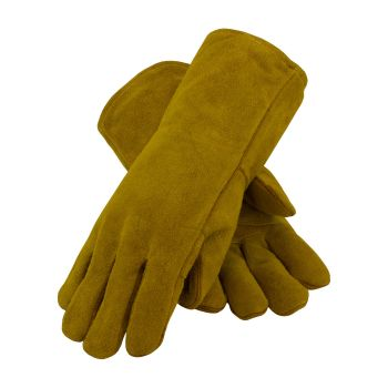 Shoulder Split Leather with Cotton Foam Lined and Kevlar Stitched Glove (LARGE)