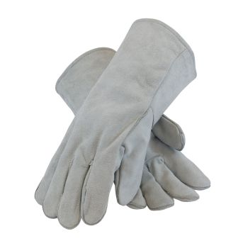 Split Leather with Liner Welder's Glove (LARGE) 12 Pairs