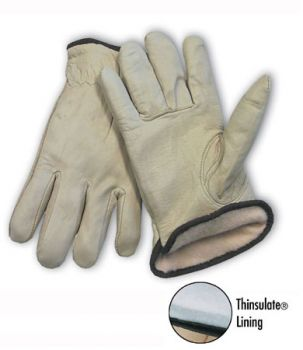 PIP 77-269 Premium Grade Top Grain Leather 3M Thinsulate Lined Glove - Keystone Thumb