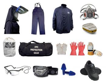 POR800V Personal Protective Equipment Full Kit