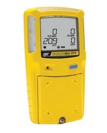 BW Technologies Yellow GasAlertMax XT II Portable Combustible Gas Carbon Monoxide Hydrogen Sulphide And Oxygen Monitor  Rechargeable Battery (1