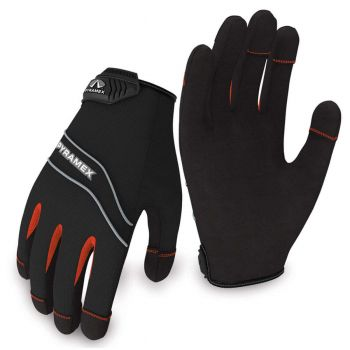 Pyramex Gloves GL101 Series Synthetic Material Black Color  - 1 Pair