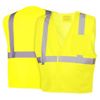 Pyramex Lumen X Hi-Vis Lime With 5 Point Dring - Size Extra Large