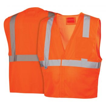 Pyramex Lumen X Hi-Vis Orange With 5 Point Dring - Size 4X Large