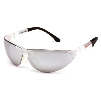Pyramex Rendezvous Crystal Clear Frame/Silver Mirror Lens (1 Box of 12)