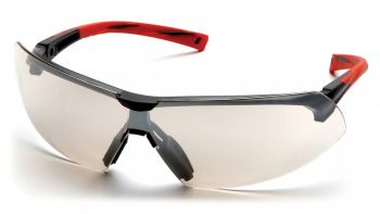 Pyramex Onix Red Frame/Indoor/Outdoor Mirror Lens (1 Box of 12)