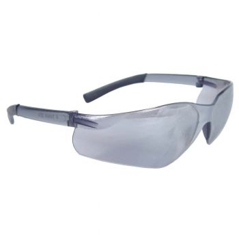 Radians Rad-Atac - Silver Mirror Lens Safety Glasses Frameless Style Silver Mirror Color - 12 Pairs / Box