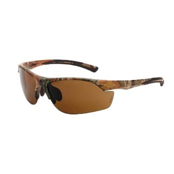 Radians Crossfire AR3 Safety Glasses - HD Brown Lens, Camo 1 Pair
