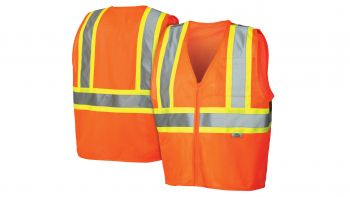 Pyramex Lumen X Hi-Vis Orange - Self Extinguishing - Size Large