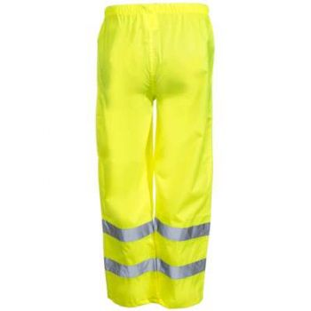 Radians RW10-ES1Y Radwear Pants Class E Lightweight Rain Pant with Reflectivz Weatherproof Yellow Color - 1 EA