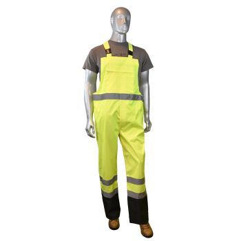 Radians RW30-ES1Y  General Purpose Rain Bib Pants Yellow Color (1 Each)