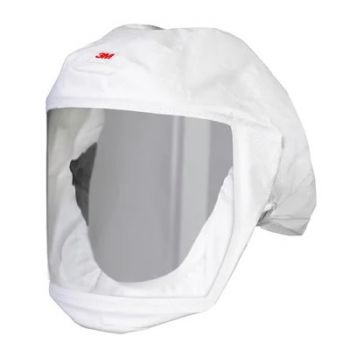 3M Versaflo 3MMS-133L-5 (Medium/Large) Headcover with Integrated Head Suspension, White (Case of 5)