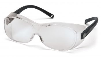 Pyramex OTS Black Frame/Clear Anti-Fog Lens 1 Each