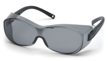 Pyramex  OTS  Black Frame/Gray Lens  Safety Glasses  12/BX