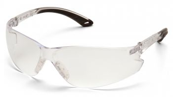Pyramex Itek Clear Frame/Clear Lens With Adjustable Temples (1 Box of 12)