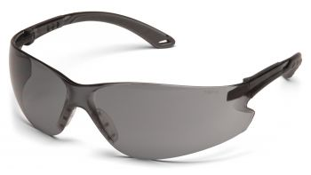 Pyramex Itek Gray Frame/Gray Lens With Adjustable Temples (1 Box of 12)
