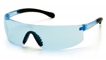 Pyramex Safety - Provoq - Infinity Blue Temples/Infinity Blue Lens Polycarbonate Safety Glasses - 12 / BX