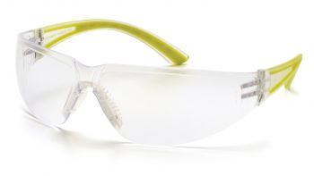 Pyramex  Cortez  Apple Temples/Clear Lens  Safety Glasses  12/BX