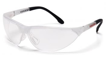 Pyramex Rendezvous Crystal Clear Frame/Clear Anti-Fog Lens (1 Box of 12)