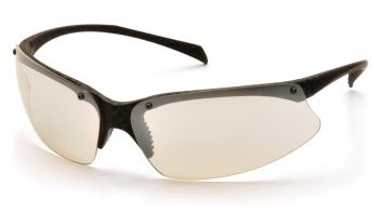 Pyramex PMX5050 Carbon Finish Frame/Indoor/Outdoor Mirror Lens (1 Box of 12)