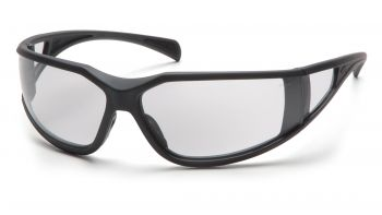 Pyramex Exeter Charcoal Gray Frame/Clear Anti-Fog Lens (1 Box of 12)